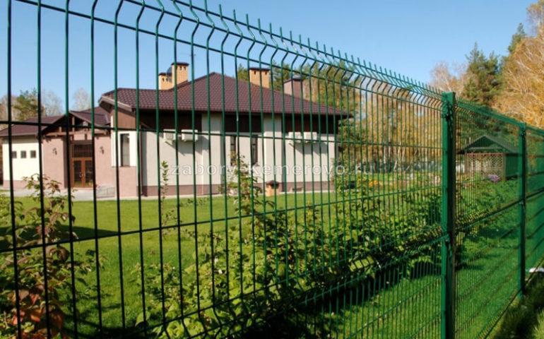 3д забор в Кемерово