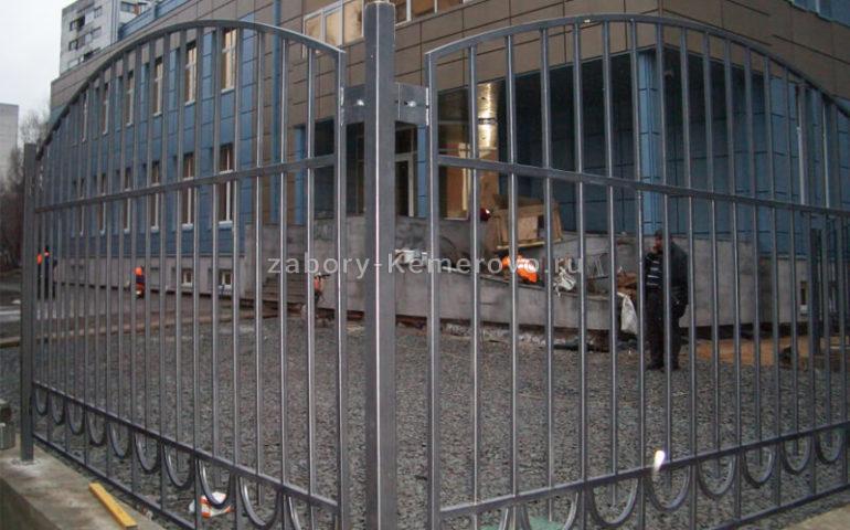 забор из профтрубы в Кемерово